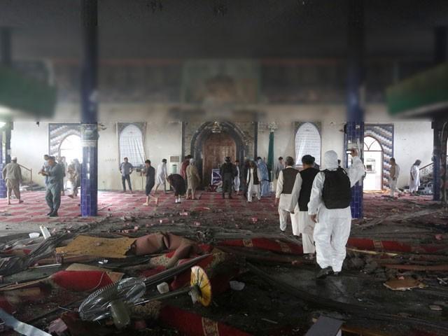 سیکیورٹی فورسز نے 5 گھنٹے کے آپریشن کے بعد تمام دہشت گردوں کو ہلاک کردیا، افغان میڈیا - فوٹو: رائٹرز