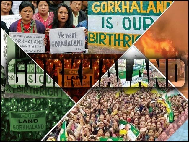 گورکھا لینڈ تحریک کی شدت بڑھتی جارہی ہے اور اب اس میں تشدد کا عنصر بھی شامل ہوگیا ہے۔ فوٹو : فائل