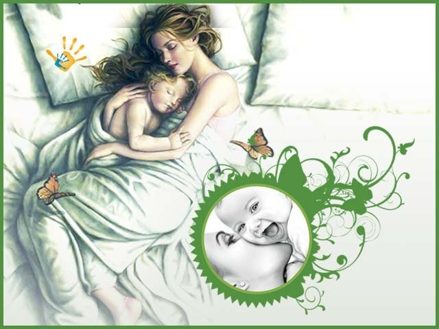 اولاد کی محبت، عام طور پر اُسے اگلی، پچھلی تمام محبتیں بھولنے پر مجبور کردیتی ہے۔ فوٹو : فائل