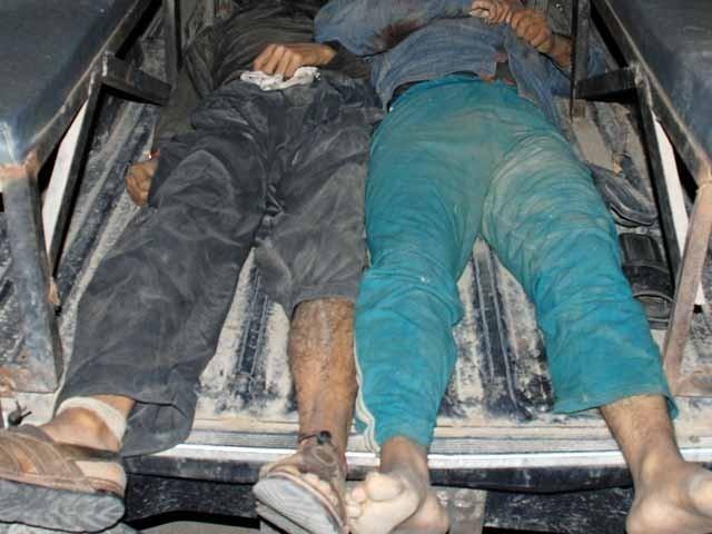 فرار ہونے والے ڈاکؤوں کی تلاش جاری ہے، پولیس: فوٹو: فائل