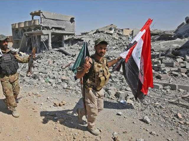 عراقی افواج تلعفر کے 29 میں سے 27 علاقوں پر قابض ہوچکی ہیں، امریکی جوائنٹ آپریشنز کمانڈ۔ فوٹو: انٹرنیٹ