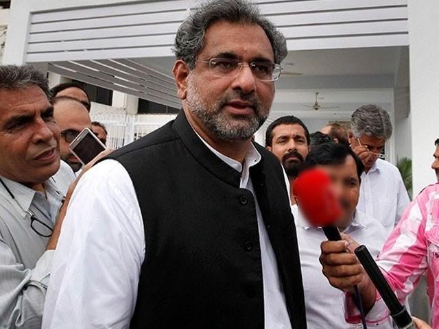 ماضی میں ایل این جی پاکستان لانے کی تمام سرکاری کوششیں ناکام رہیں، وزیراعظم شاہد خاقان عباسی : فوٹو : فائل