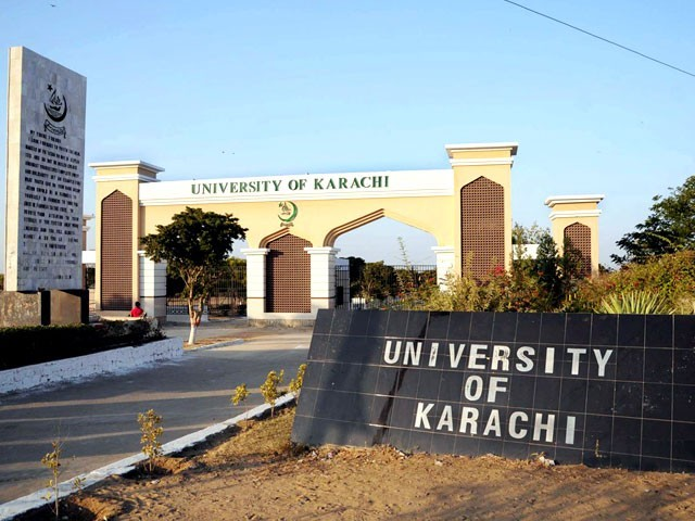 جامعہ کراچی نے اکیڈمک کونسل کااجلاس طلب کر لیا، ایچ ای سی کی ٹیسٹنگ سروس کے تحت داخلے دینے پربھی غور ہو گا۔ فوٹو: فائل ۔ فوٹو: فائل