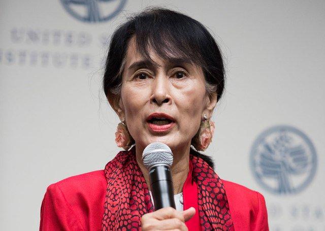 میانمار حکومت نے سوچی کے جنرل اسمبلی اجلاس میں شرکت نہ کرنے کے فیصلے کی وجہ نہیں بتائی۔۔ فوٹو: فائل