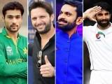 پاکستان کی جیت پر پوری قوم کے ساتھ قومی کھلاڑی بھی بے حد خوش ہیں ؛فوٹوفائل
