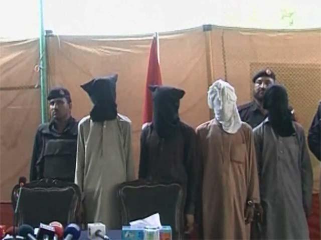 گرفتاردہشت گردوں سے5 کلو بارود بھی برآمد کیا گیا ہے، سی سی پی او: فوٹو: اسکرین گریب