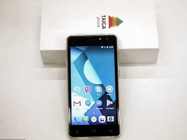 ٹائیگا فون کی قیمت 26 ہزار روپے رکھی گئی ہے اور یہ اپنی تکمیل کے آخری مراحل میں ہے۔ فوٹو: فائل