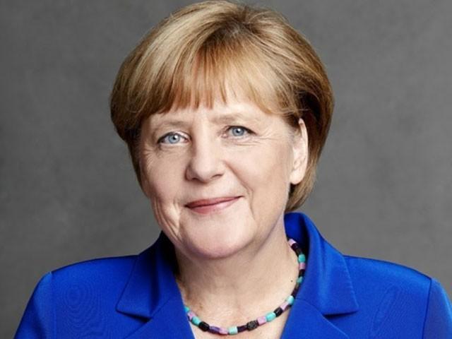 انجیلا مرکل 2005 سے جرمنی کی چانسلر ہیں۔ فوٹو : فائل