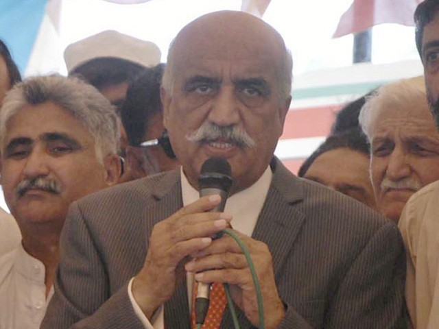 جس سیاستدان کے قول و فعل میں تضاد ہو وہ قوم کی کیا قیادت کرے گا، خورشید شاہ فوٹو: فائل