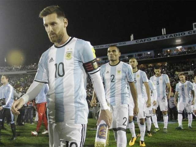 ارجنٹائن کی ٹیم آخری بار 1970 کے میگا ایونٹ سے آﺅٹ ہوئی تھی ۔ فوٹو: فائل