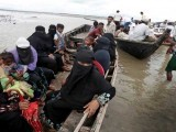 25 اگست کے بعد سے 5 لاکھ روہنگیا افراد راکھائن سے اپنی جان بچا کر بنگلادیش پہنچ چکے ہیں فوٹو:انٹرنیٹ