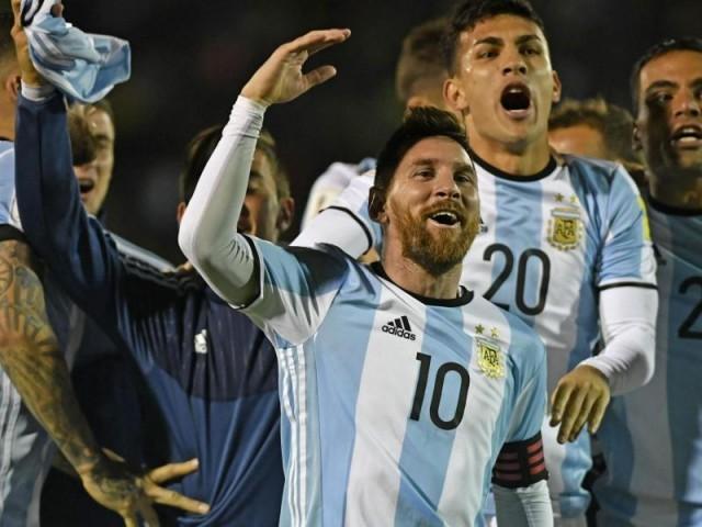 2 بار کی عالمی چیمپئن ارجنٹائن کو اس بار براہ راست کوالیفائی نہ کرپانے کا خطرہ درپیش تھا، فوٹو: فائل