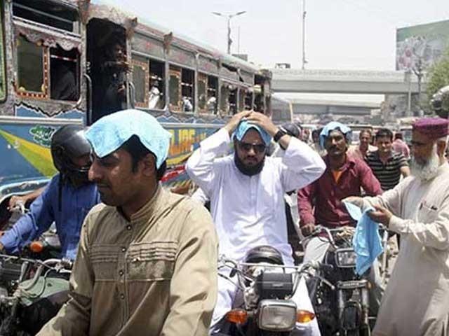 آج بھی کراچی کا پارہ 42 ڈگری سینٹی گریڈ تک پہنچنے کا امکان ہے؛فوٹوفائل