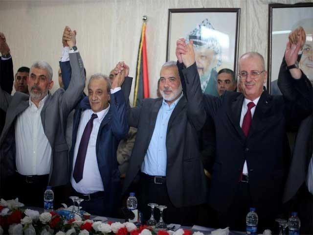 حماس غزہ کا کنٹرول فلسطینی اتھارٹی کے حوالے کرنے پر رضا مند ہوگئی،رپورٹ فوٹو:انٹرنیٹ