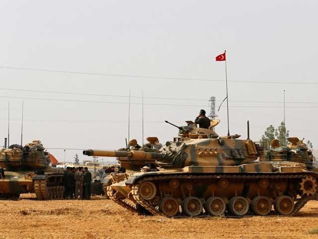 کردستان میں ممکنہ فوجی آپریشن کے پیش نظر ترک فوجی دستے شمالی عراق میں داخل ہوگئے،فوٹو:انٹرنیٹ