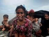 بنگلہ دیش کے پناہ گزیں کیمپ میں موجود روہنگیا خاتون نے برمی فوج کے مظالم کی لرزہ خیز تفصیلات بتائیں۔ فوٹو: فائل