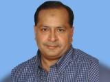 سلمان مجاہد بلوچ ایم کیوایم کے رکن قومی اسمبلی ہیں۔ فوٹو : فائل
