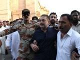 سندھ ہائی کورٹ نے شرجیل انعام میمن کی درخواست ضمانت مسترد کردی۔ فوٹو: پی پی آئی
