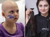 یو اے ای میں خواتین نے کینسر کی مریضوں کو بال عطیہ کرنے کی مہم شروع کردی،فوٹو:انٹرنیٹ