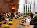 عرب لیگ کا ہنگامی اجلاس ہوا جس میں قطر کے تنازع اور ایرانی مداخلت پر غور کیا گیا۔۔ فوٹو:عرب میڈیا