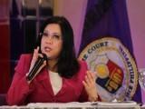 مواخذہ سے پوری جمہوریت متاثرہوگی، فلپائنی چیف جسٹس ماریا لورڈیز سارینوں۔ فوٹو: فائل