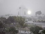 بلوچستان اور ایران کی جانب سے آنے والی ہواؤں کی وجہ سے شہر سردی کی لپیٹ میں ہے، فوٹو : آئی این پی
