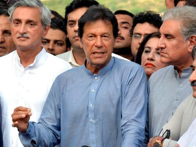 عدالت کا عمران خان کو شامل تفتیش کرنے کا حکم اور ضمانت میں 7 دسمبر تک توسیع۔ فوٹو: فائل