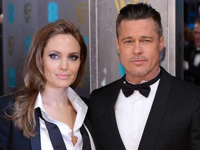 انجلینا جولی سے قبل ہالی ووڈ اداکارہ جینیفرآنسٹن اور بریڈ پٹ رشتہ ازدواج میں منسلک تھے ؛فوٹوفائل