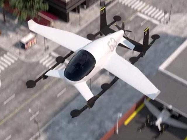 اوبر 2022 تک لاس اینجلس میں 4افراد پر مشتمل 322 کلو میٹر پرگھنٹے کی رفتار سے اوڑن گاڑی کا  تجربہ کرے گا۔فوٹو: بشکریہ اوبر