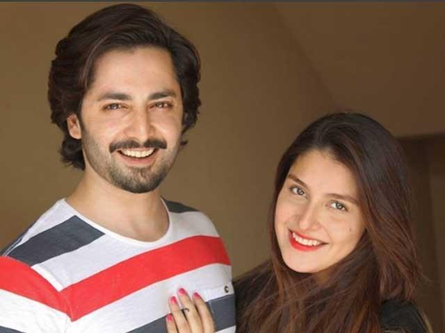 اداکار دانش تیمور اور عائزہ خان کی اس سے قبل ایک بیٹی حورین بھی ہے؛فوٹوفائل