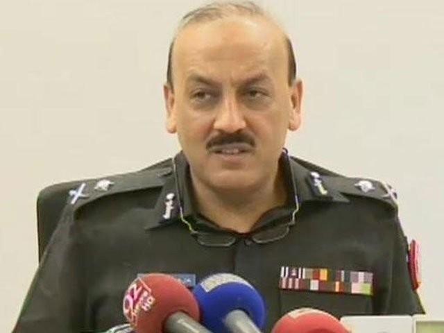 امن فوج، رینجرز اور پولیس کی قربانیوں کا مرہون منت ہے، آئی جی سندھ۔ فوٹو : فائل