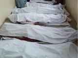 جاں بحق افراد کو نامعلوم افراد نے فائرنگ کرکے قتل کیا۔ فوٹو: فائل