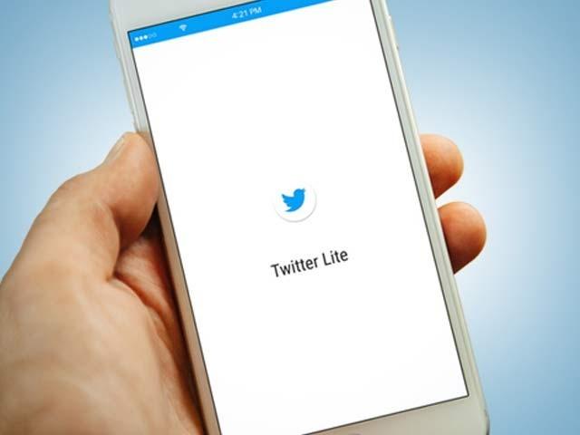 ٹویٹرلائٹ ایپ کے ذریعےسست انٹرنیٹ کنیکشن میں بھی اس کے تمام فیچر استعمال کیے جاسکتے ہیں فوٹو:ٹویٹر