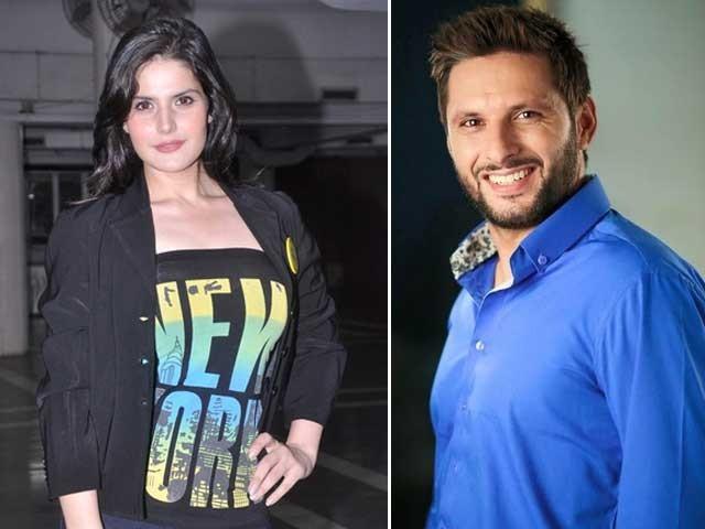 شاہد آفریدی ٹی 10 لیگ کی پختون فرنچائز کے کپتان اور زرین خان ایمبسیڈر ہیں؛ فوٹوفائل