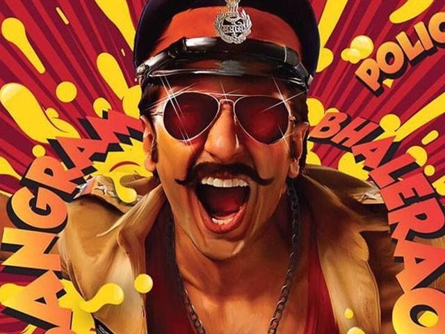 فلم'سمبا ' میں رنویر سنگھ پولیس آفیسر کا کردار کر رہے ہیں  فوٹو: فائل