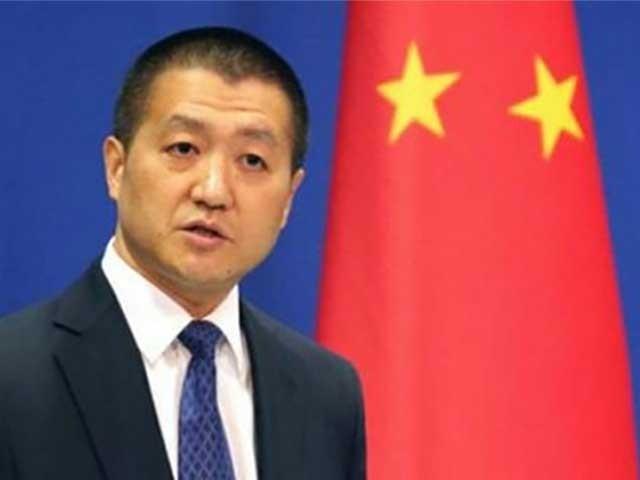 دہشت گرد تنظیموں کے خلاف کریک ڈاؤن کی ذمہ داری تنہا پاکستان پر عائد نہیں ہوتی، چین ۔ فوٹو: فائل