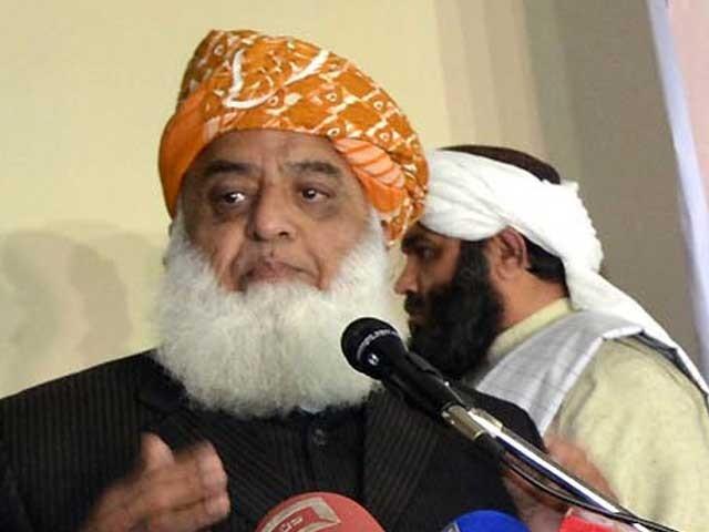 فاٹا اصلاحات کا معاملہ دانشمندی سے حل کرنا چاہتے ہیں.مولانا فضل الرحمان،فوٹو:فائل
