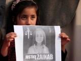 زینب کو اغوا اورزیادتی کا نشانہ بنانے کے بعد قتل کردیا گیا تھا فوٹو: فائل
