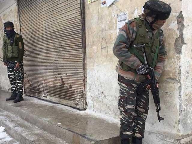 واقعے کے بعد حملہ آور فرار ہونے میں کامیاب ہوگئے۔ فوٹو:انڈین میڈیا
