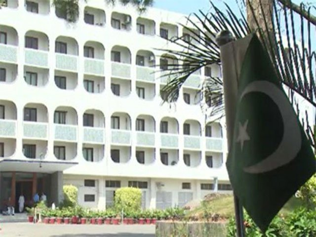 پاکستان پر بغیر ثبوت الزام لگانا بھارت کا رحجان بن گیا ہے، ترجمان دفتر خارجہ -  فوٹو : فائل