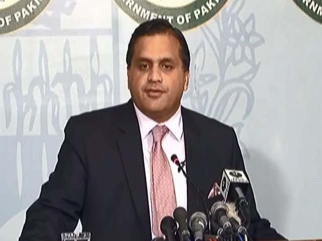 کسی بھی واقعے کا الزام پاکستان پر لگانا بھارت کا پرانا وطیرہ ہے، ترجمان دفترخارجہ :  فوٹو : فائل