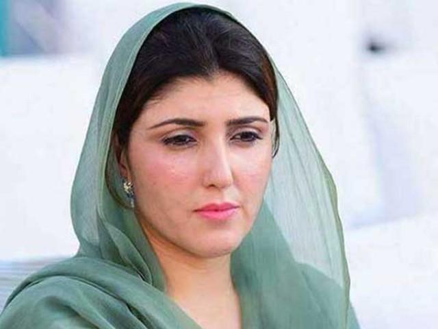 تحریک انصاف کے خلاف  میری مہم سے علی ترین كو شكست ہوئی،عائشہ گلالئی،فوٹو:فائل