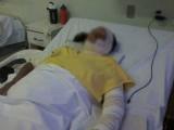 3 بچوں کی والدہ ارم کو علاج معالجے کے لئے قصور سے لاہور کے جناح اسپتال منتقل کر دیا گیا ہے؛ فوٹوفائل