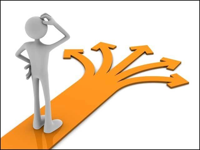 کیا آپ کو اپنے کیریئر کا راستہ ''واضح'' طور پر دکھائی دے رہا ہے؟ فوٹو: انٹرنیٹ