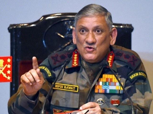 سوچے سمجھے منصوبے کے تحت بنگالی مسلمان نقل مکانی کرکے بھارت منتقل ہورہے ہیں، جنرل بپن راوت فوٹو؛فائل