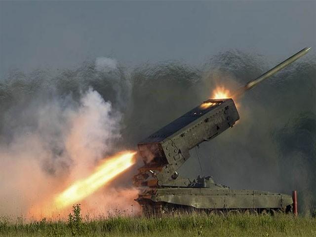 نئے ہتھیاروں کو  آزمائش کے طور پر استعمال کیا ،روس، فوٹو:فائل