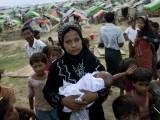 میانمار میں جاری ریاستی ظلم سے تنگ 7 لاکھ سے زائد روہنگیا مسلمان بنگلا دیش میں کسمپرسی کی حالت میں رہ رہے ہیں؛ فوٹوانٹرنیٹ