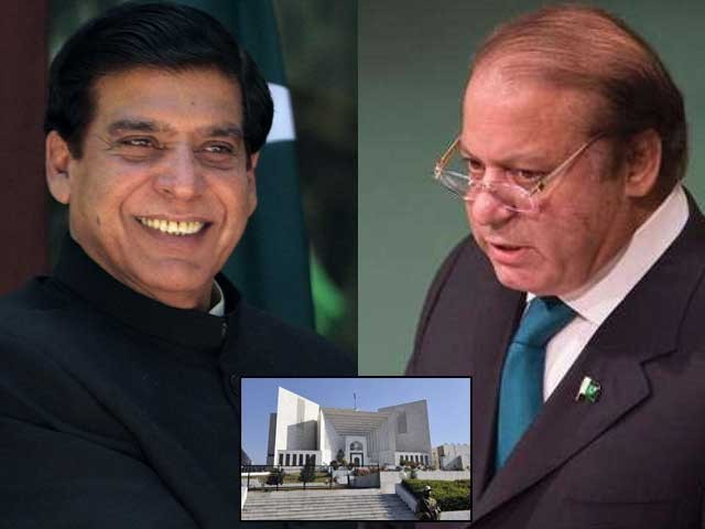 عجیب اتفاق ہے کہ 2013 میں الیکشن سے پہلے سپریم کورٹ کے فیصلوں نے پاکستان پیپلز پارٹی کو ناقابل تلافی نقصان پہنچایا تھا اور آج 2018 میں بھی الیکشن سے تین ماہ قبل سپریم کورٹ کے فیصلوں نے ن لیگ کو ناقابل تلافی نقصان پہنچایا ہے۔ (فوٹو: فائل)