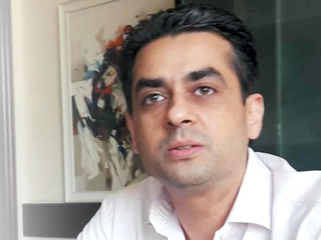 پنجاب بیس بال ایسوسی ایشن کے صدر سید شہریار علی کا ''ایکسپریس'' کو انٹرویو۔ فوٹو: ایکسپریس