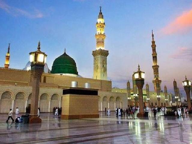 دامنِ نبوت سے وابستہ ہوتے ہی اپنی تمام دولت و مروت نعلین حبیب کبریاؐ پر نچھاور کردی۔ فوٹو: فائل
